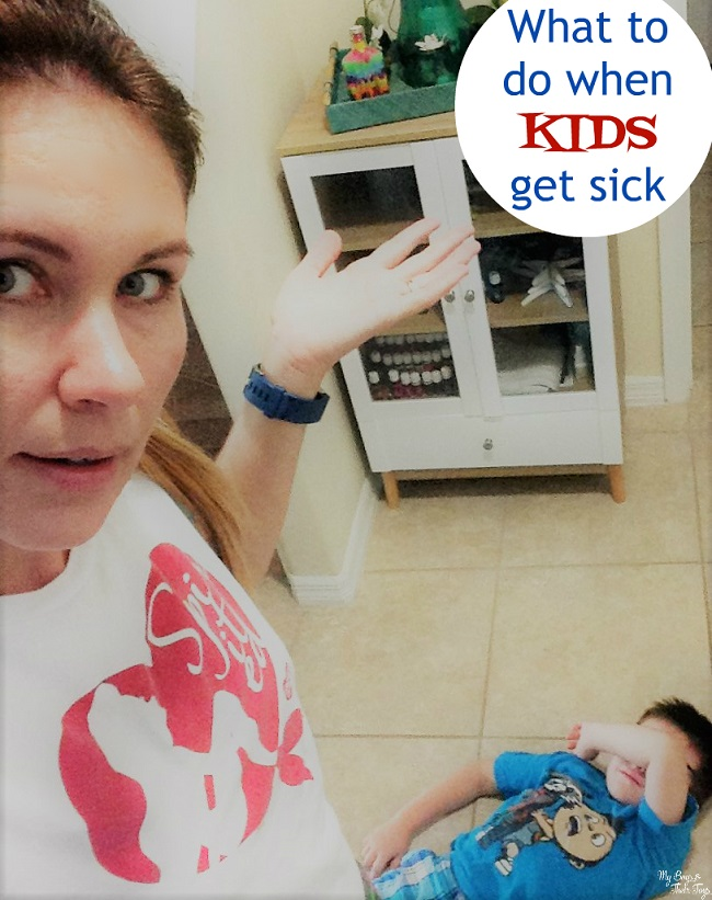 what to do when kids get sick