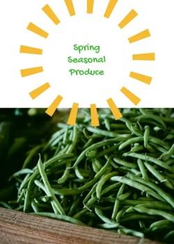 Spring Seasonal Produce