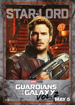 Guardians of the Galaxy 2 Cast Posters & Toy Figures