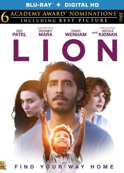 """Oscar Nominated """"Lion"""" Now Available on Blu-ray"""