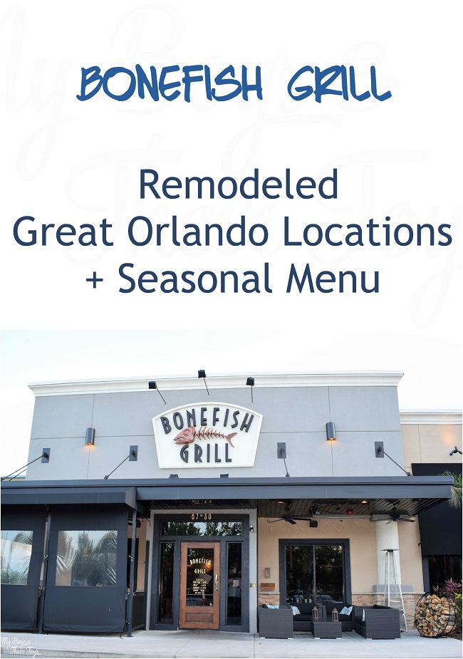 Bonefish grill remodeled greater orlando locations for Bone fish grill locations