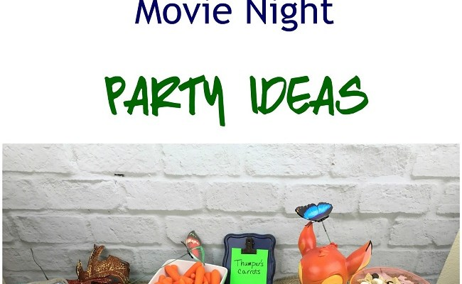 Outdoor Movie Night – BAMBI Party Ideas