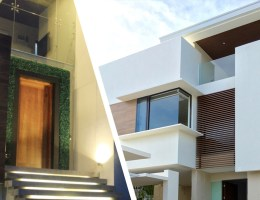 Collage of Modern Homes
