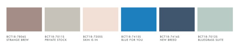 BE YOU Palette from Boysen Color Trend 2018 | MyBoysen