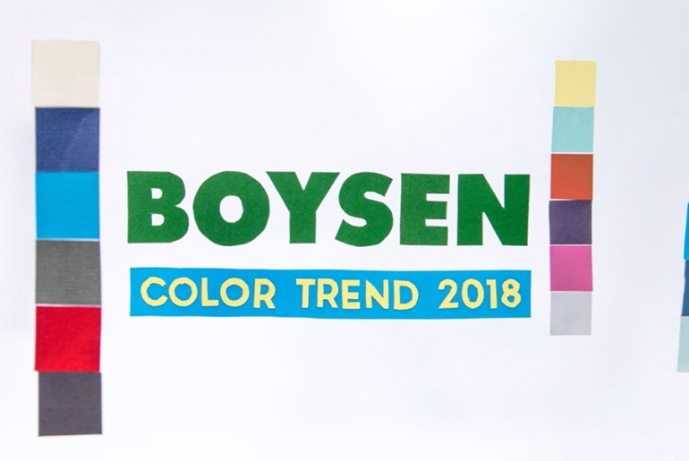 Papercrafting using Boysen Color Trend 2018
