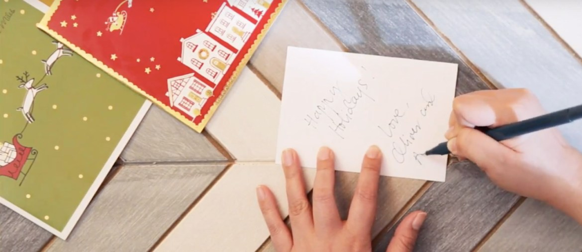 Send Handwritten Letters to Your Nearest and Dearest this Christmas