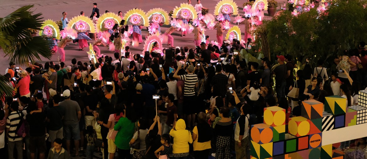 Ilonggos Get the Chance to Play with Colors as Boysen Color Play Joins Dinagyang