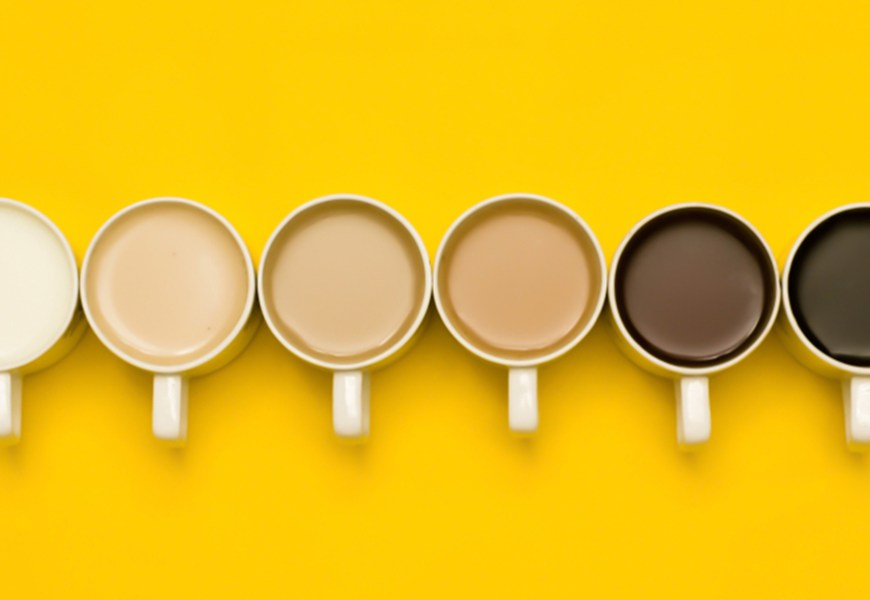 Get a Neutral Paint Color Palette Based on the Type of Coffee You Drink