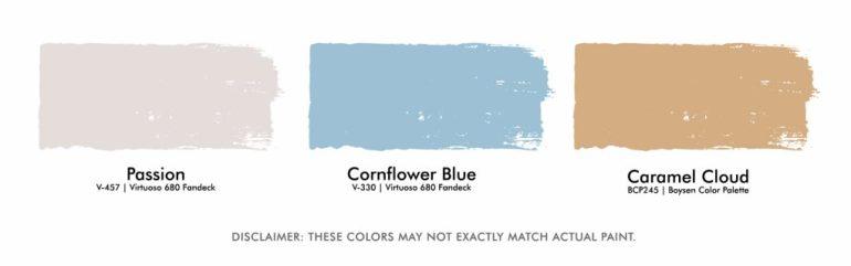 Color Palette for Cozy Reading Corner