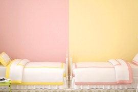 bedroom ideas pink and yellow feature image