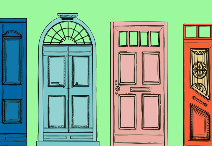 8 Exterior Painting Ideas for Front Doors