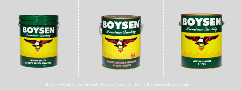 Boysen Metal Primer Cans