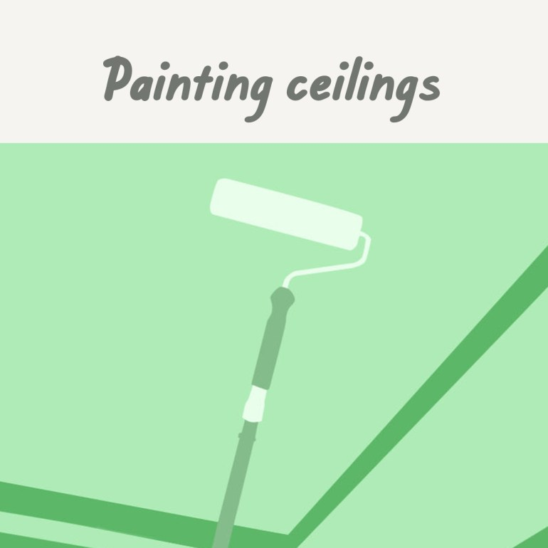 Boysen Tutorials: How to Paint Your Condo | Painting ceilings