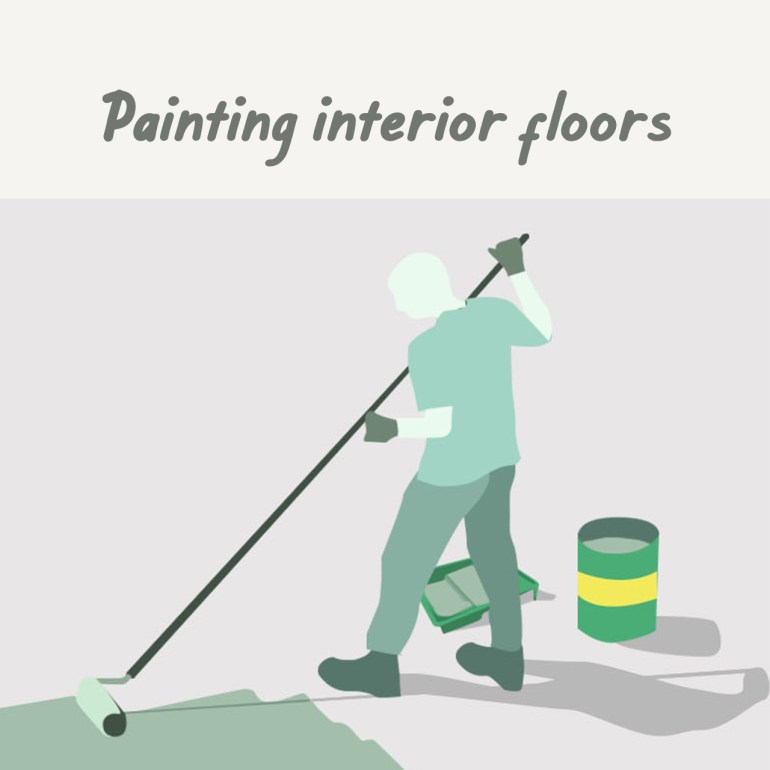 Boysen Tutorials: How to Paint Your Condo | Painting interior floors