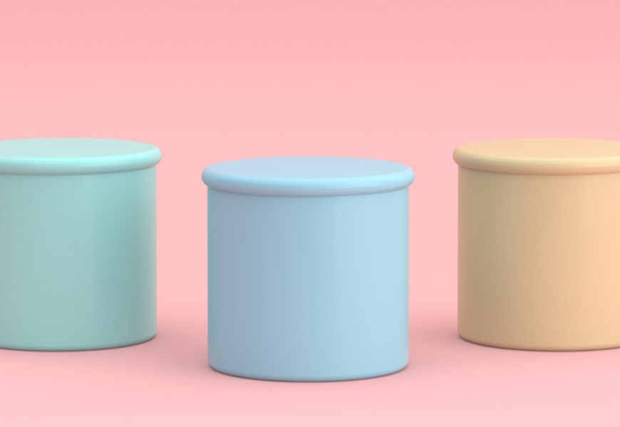 The Bubble Gum Jelly Bean Pastel Colors In Fashion and Interiors
