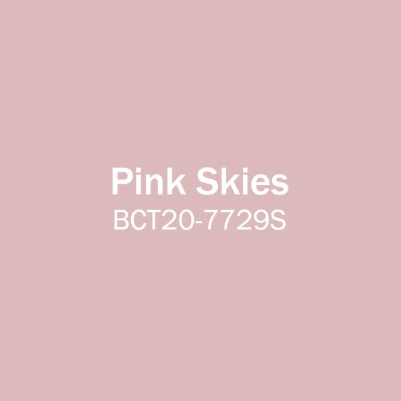 Pink Skies paint swatch