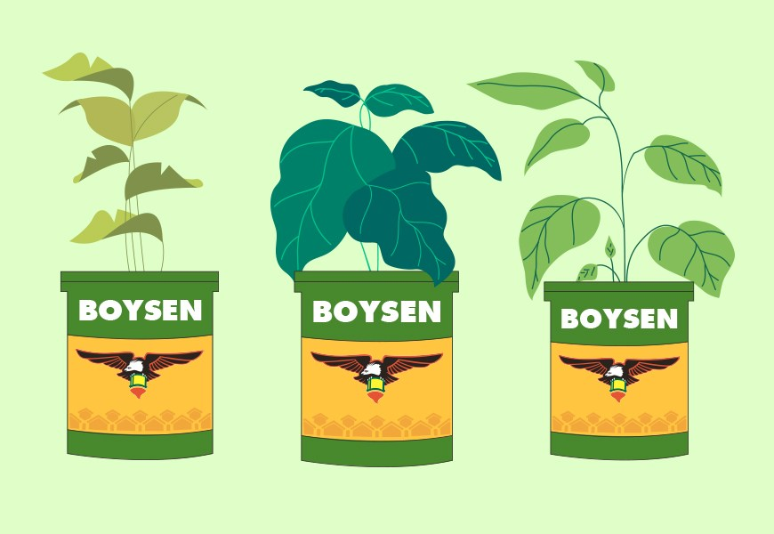 Upcycling Boysen Paint Cans: Paint Pots to Plant Pots
