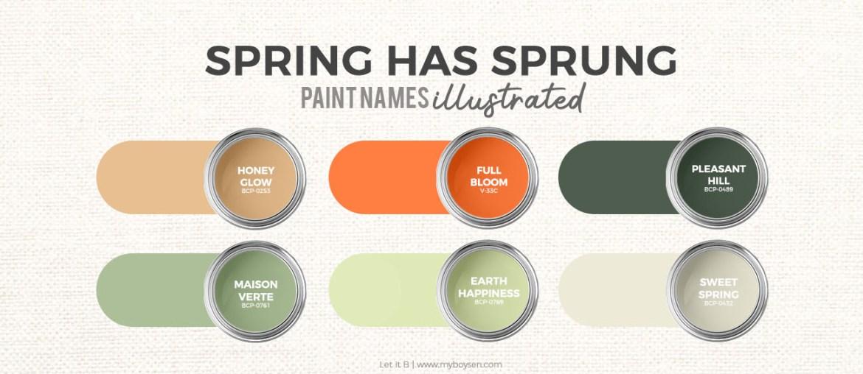 Paint Palette | Spring Has Spung | MyBoysen