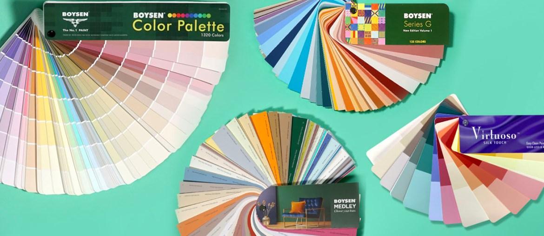 How to Use Boysen Paint Color Fan Decks | MyBoysen