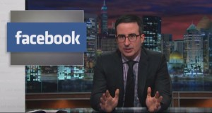 John Oliver Dismisses Facebook Privacy Hoax