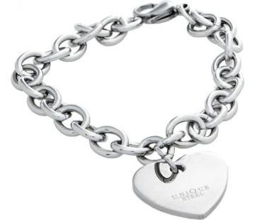 Customizable bracelet with heart