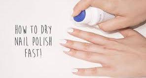 Dry Nail Polish Fast