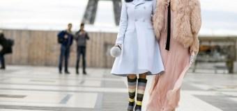 Street style fashion at Paris Haute Couture Fashion Week