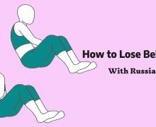 How To Lose Belly Fat In 2 Weeks With Russian Twist