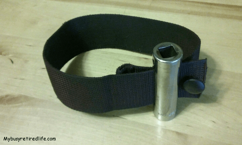 Ratcheting Strap Wrench