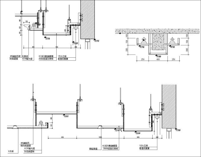 粉刷平頂天花板、平頂天花板轉角、膠合木板天花板、吸音天花板、明架天花板、暗架天花板、礦纖天花板、合成纖維天花板、金屬企口天花板、金屬暗架天花板、鋁板天花板吊架、天花板剖面、膠合木板天花、有孔膠合木板天花、半明架天花板、流明天花板、間接天花板剖面、美耐板天花板