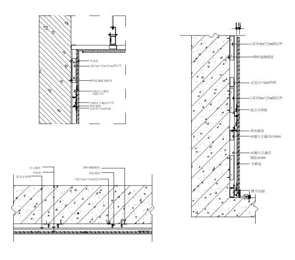 商品內容: 牆紙與石膏板收口節點、壁紙與幕牆收口詳圖、背景牆節點、隔牆地坪接點、木作牆面接點、石材牆面介面接口、混凝土與其他材質介面