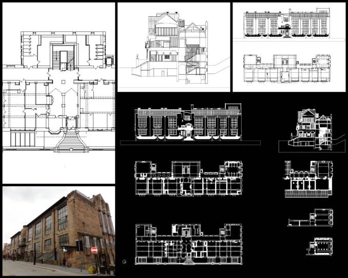 格拉斯哥藝術學院Glasgow School of Art-查爾斯·雷尼·麥金托什