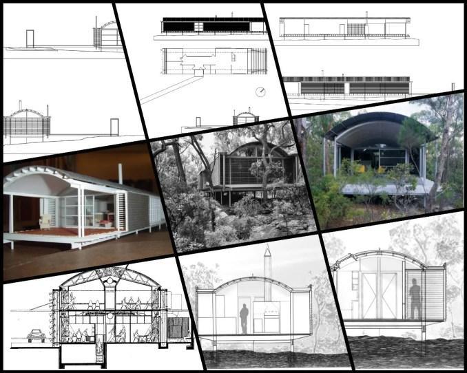 【世界知名建築案例研究CAD設計施工圖】Ball-Eastaway House