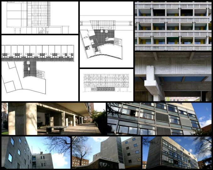 【世界知名建築案例研究CAD設計施工圖】 勒·柯比意耶基金會Fondation Suisse-Le Corbusier勒·柯比意