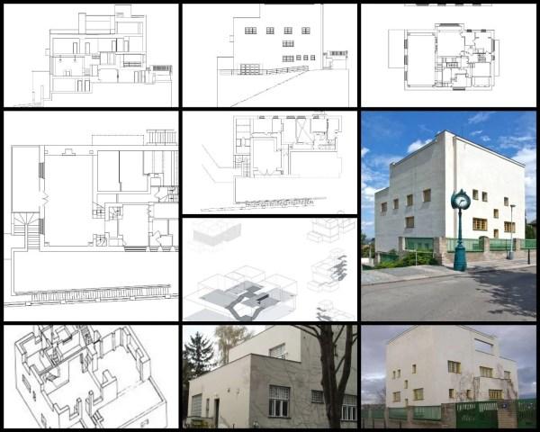 【世界知名建築案例研究CAD設計施工圖】穆勒別墅(VillaMüller)-Adolf Loos阿道夫·魯斯