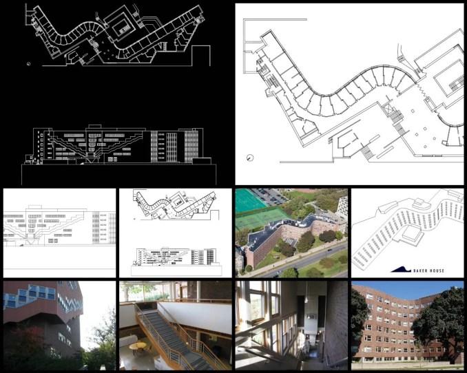 Baker House麻省理工學院-Alvar Aalto阿爾瓦·阿爾托