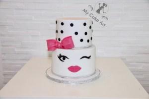 Eine Torte Fur Grosse Madchen My Cake Art