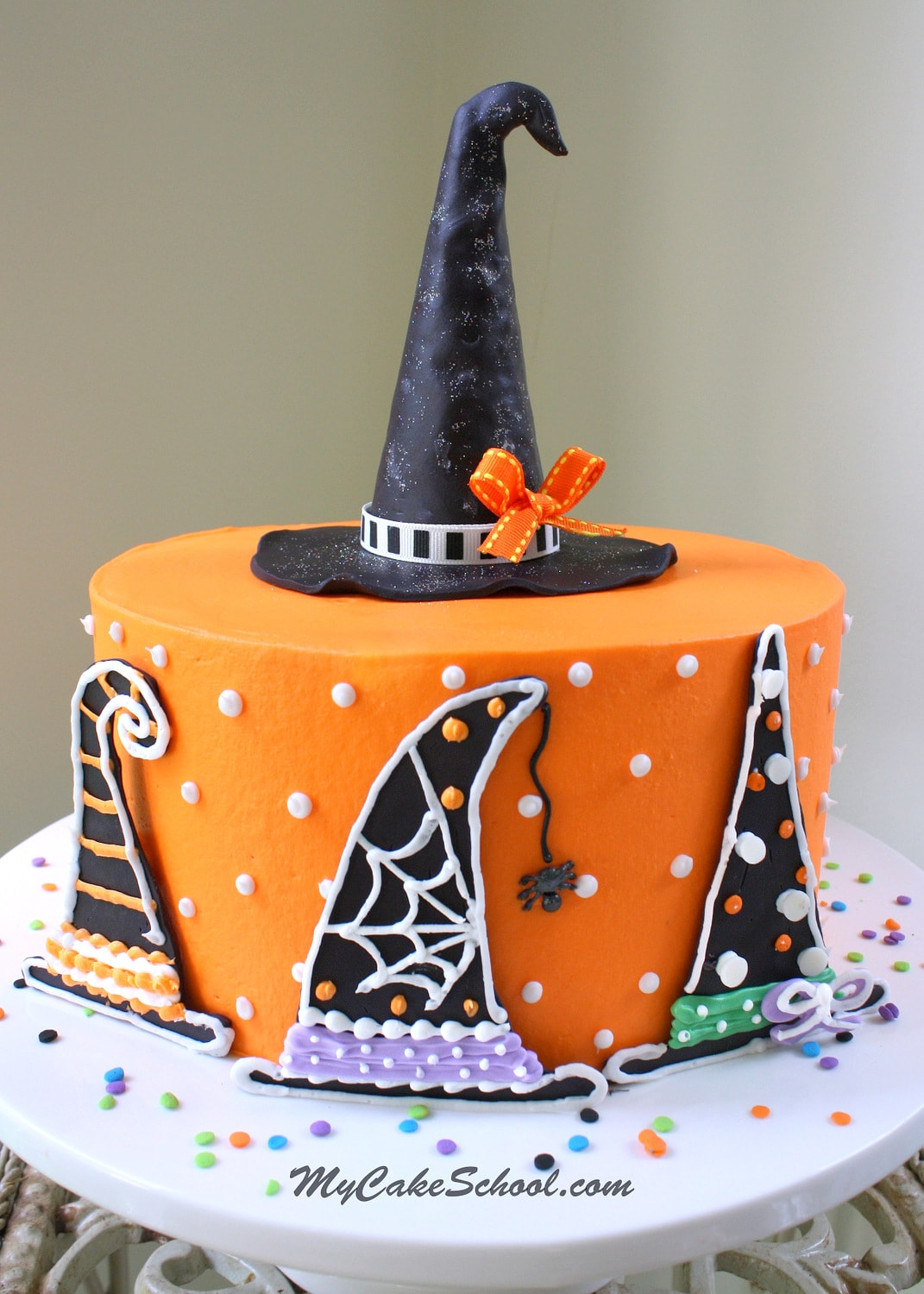 Witch Hats A Halloween Cake Decorating Tutorial