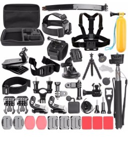 Outdoor Sport Accessories 50 in 1 Kit Accessory for GoPro Hero 6 5 4     Outdoor Sport Accessories 50 in 1 Kit Accessory for GoPro Hero 6 5 4 3  Camera