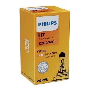 Λάμπα αυτοκινήτου της Philips H7 vision