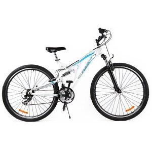 Ποδήλατο BLOG 29 - FULL SUSPENSION με Δισκόφρενα Λευκό