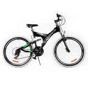 """Ποδήλατο TOUAREG 26"""" FULL SUSPENSION Μαύρο"""