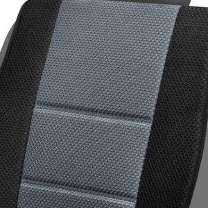 Πλατοκάθισμα αυτοκινήτου μαυρο γκρι περφορε αεριζομενο 3lines zoom