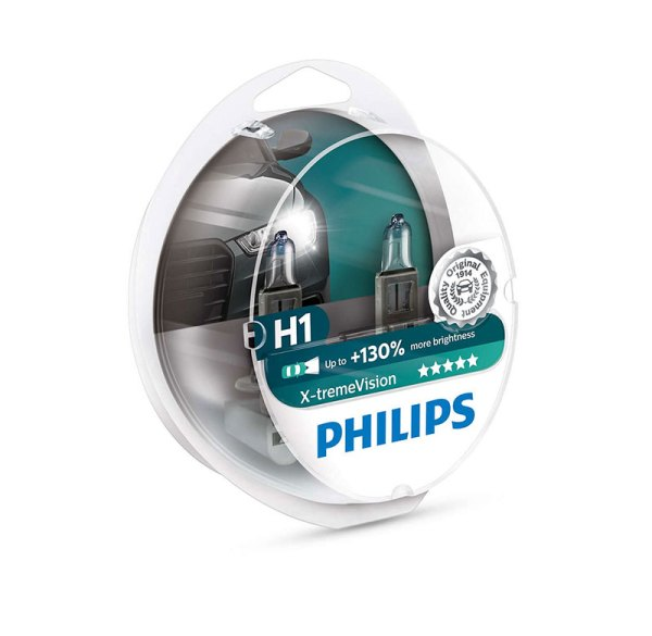 Philips-H1-X-tremeVision-+130%-12V-2τμχ-37166628-RTP