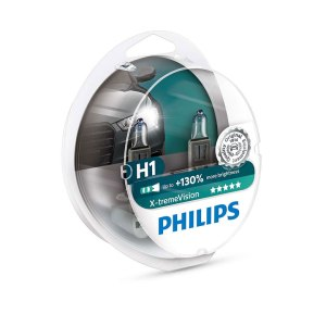 Philips H1 X-tremeVision +130% 12V 2τμχ