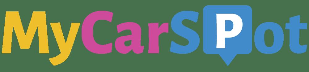 logo MyCarSpot, solution de gestion des espaces partagés