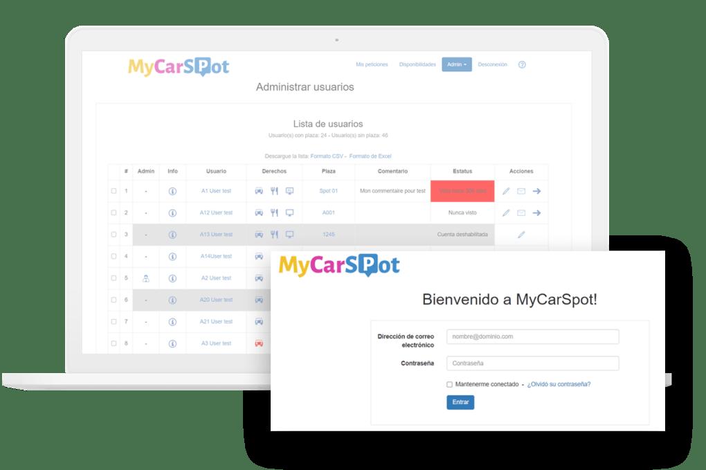 Gestion comedor empresa - MyCarSpot