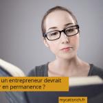 Pourquoi un entrepreneur devrait se former en permanence ?