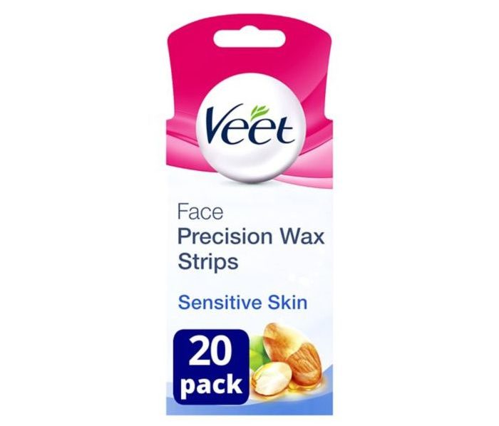 Veet EasyGrip Ready-to-Use Face Wax Strips