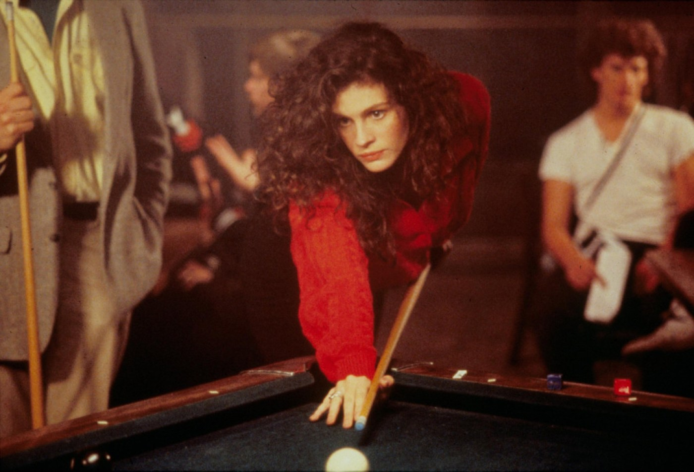 Editorial use only. No book cover usage. Mandatory Credit: Photo by Moviestore/REX (1579413a) Mystic Pizza, Julia Roberts Film and Television